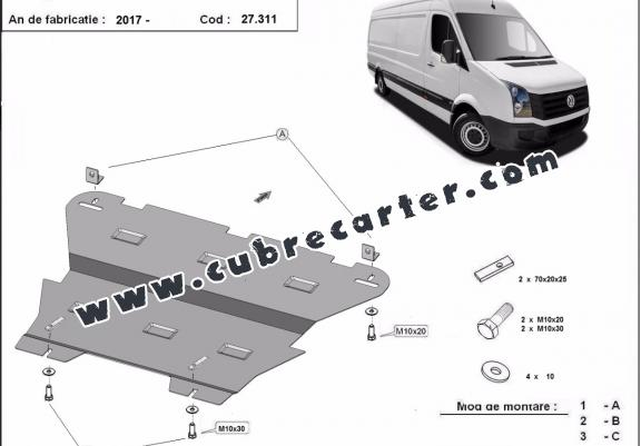 Cubre carter metalico Vw Crafter