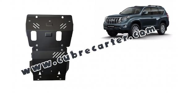 Cubre carter metalico Toyota Land Cruiser 150