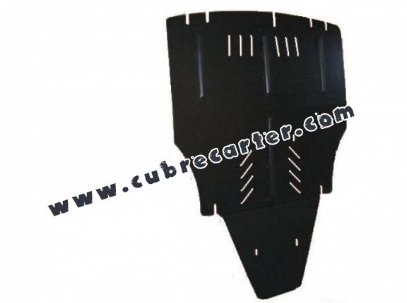 Cubre carter metalico Audi A6 lateral