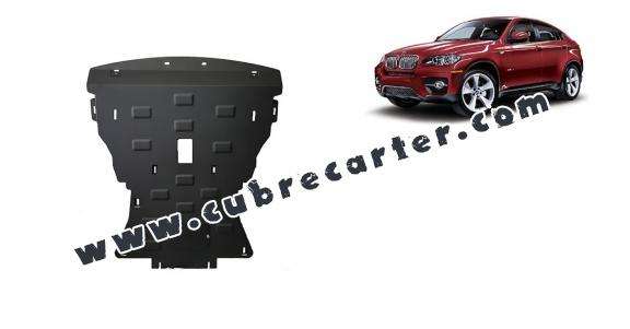 Cubre carter metalico BMW X6