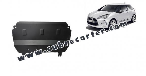 Cubre carter metalico Citroen DS3