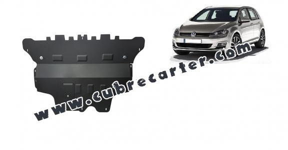 Cubre carter metalico VW Golf 7 - caja de cambios manual
