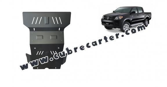 Cubre carter metalico Toyota Hilux