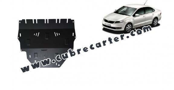 Cubre carter metalico Skoda Rapid
