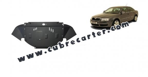 Cubre carter metalico Skoda Superb - 1,8  1,9 TDI