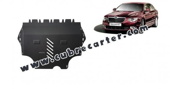 Cubre carter metalico Skoda Superb 2