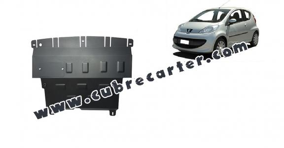 Cubre carter metalico Peugeot 107