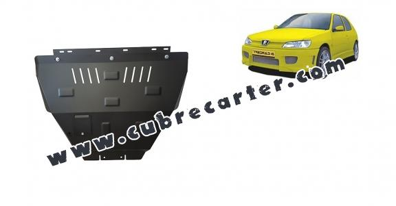 Cubre carter metalico Peugeot 306