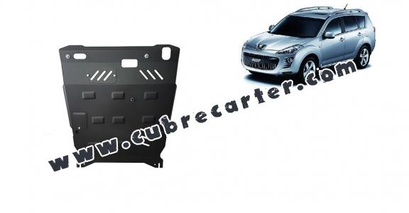 Cubre carter metalico Peugeot 4007