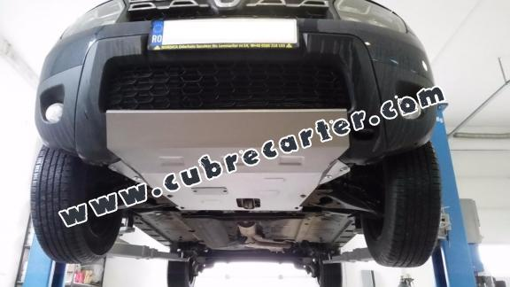 Cubre carter metalico Dacia Duster - 2,5 mm