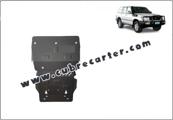 Cubre carter metalico Toyota Land Cruiser J100