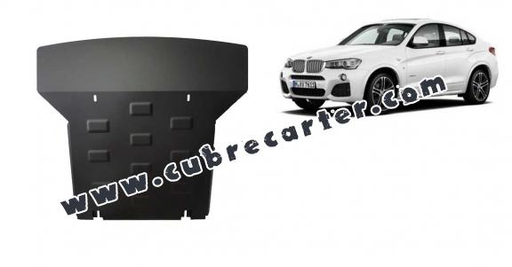 Cubre carter metalico  BMW X4
