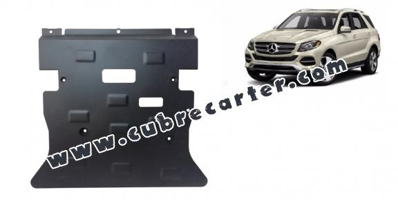 Cubre carter metalico Mercedes GLE X166