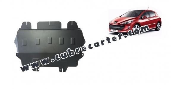 Cubre carter metalico Peugeot 308