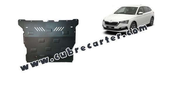 Cubre carter metalico Skoda Scala