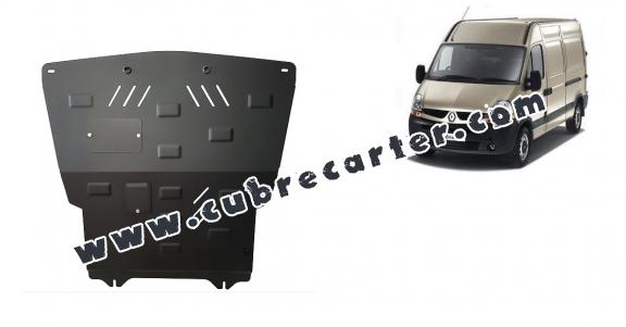 Cubre carter metalico Renault Master 2