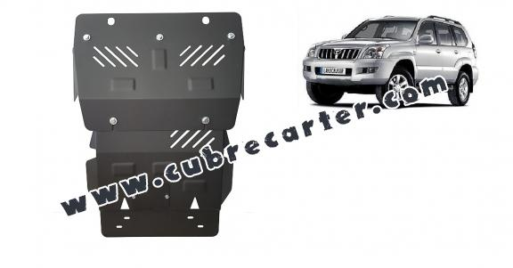 Cubre carter metalico Toyota Land Cruiser J120