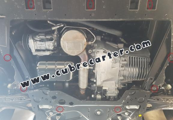 Cubre carter metalico Citroen Berlingo